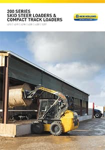 Skid Steer Loaders & Compact Track Loaders - Brochure