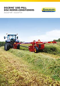 Discbine® Side-Pull Disc Mower-Conditioners - Brochure