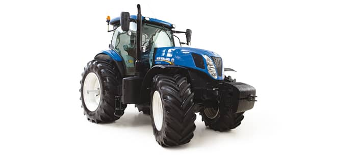 T7 SERIES TRACTORS <br>MAXIMUM VERSATILITY AND THE SUPERIOR POWER AND EFFICIENCY YOU EXPECT FROM NEW HOLLAND.