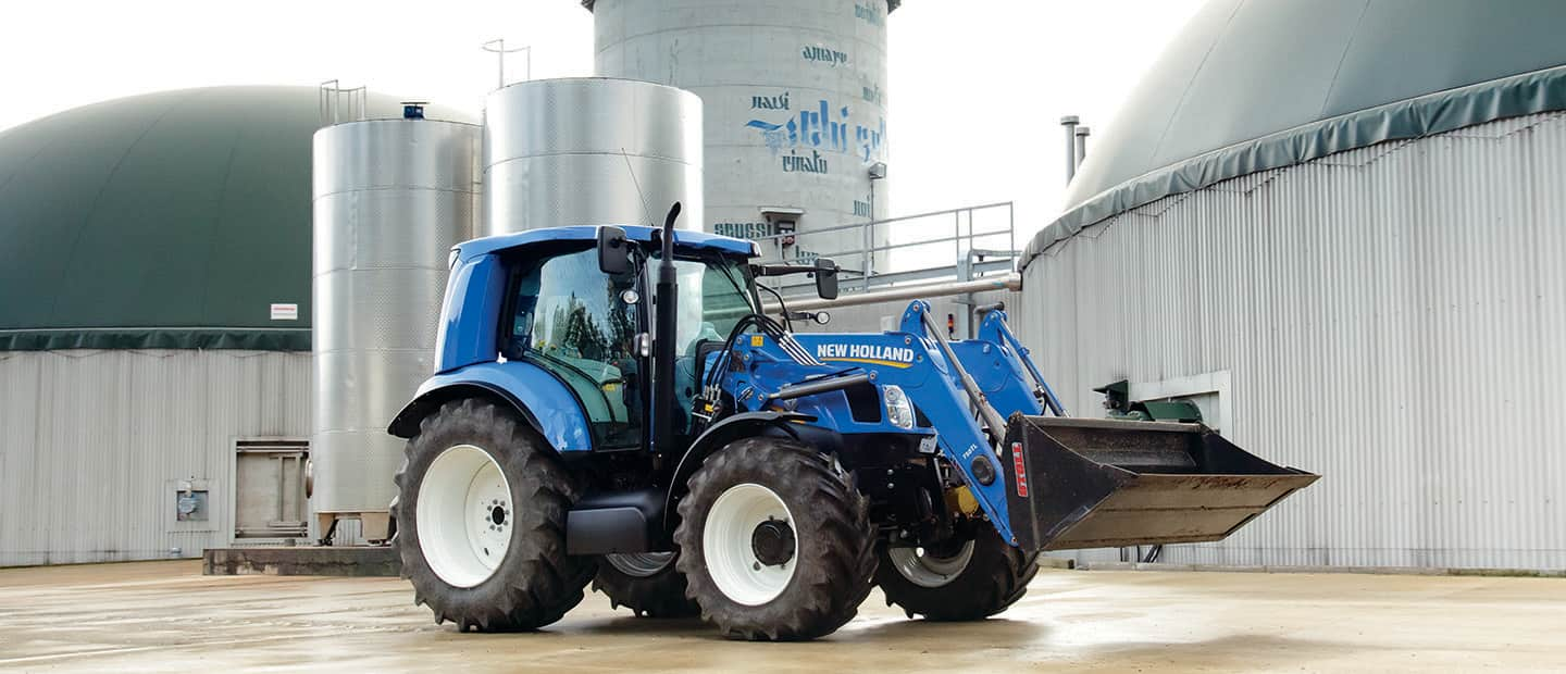 มีเทน New Holland Agriculture