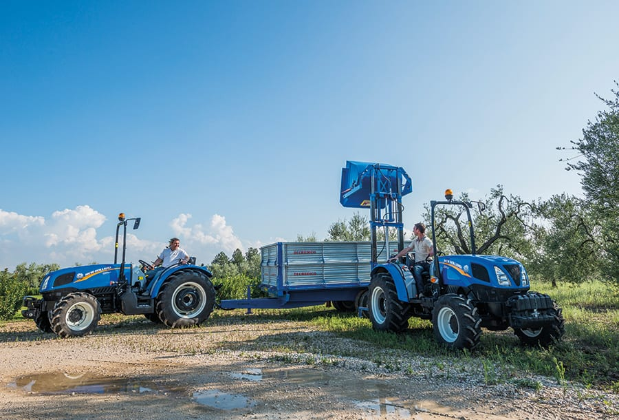 New Holland Orchard Tractors : New holland launches and improved td f range of