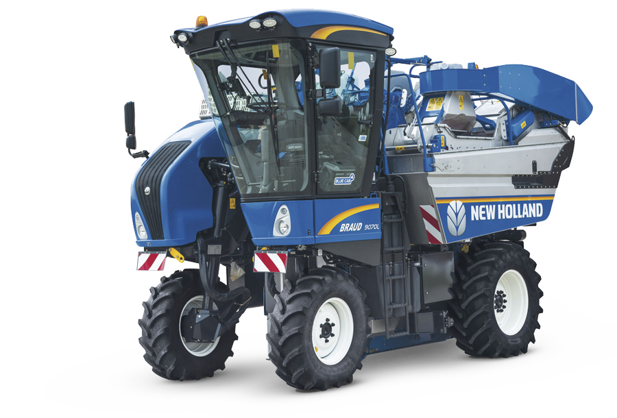 BRAUD High and Extra High Capacity Grape Harvesters