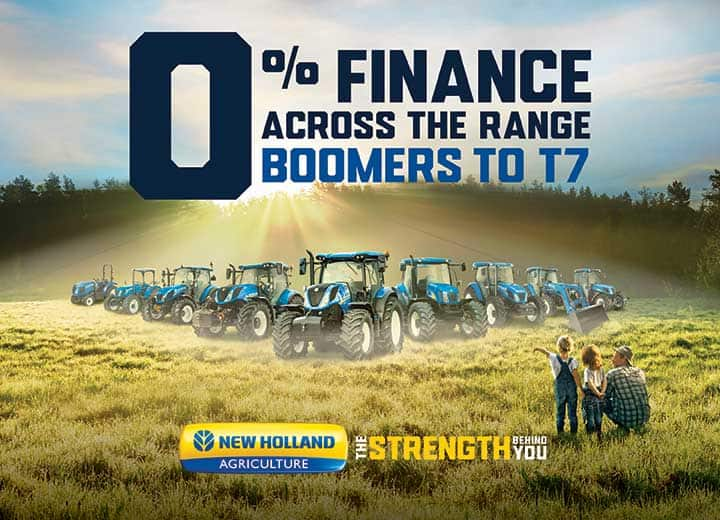 End of Year Finance Offer on Boomers to T7