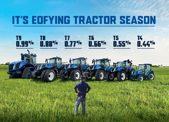 Legendary EOFing T-Series Tractor Season