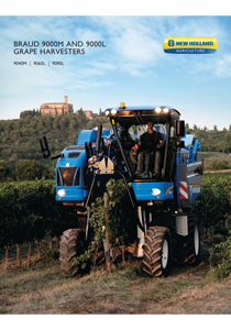 Braud Grape Harvesters - Brochure