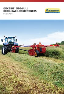 Discbine® 210 Side-Pull Disc Mower-Conditioners - Brochure