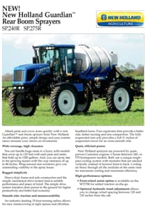 Guardian Rear Boom Sprayers - Brochure