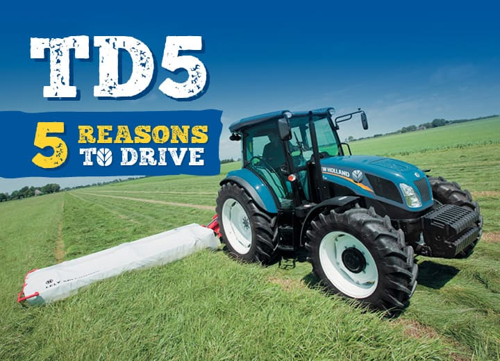 5 REASONS TO DRIVE TD5