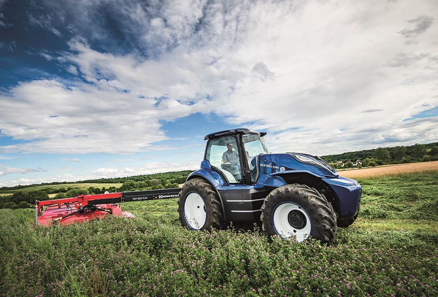 NEW HOLLAND AGRICULTURE UNVEILS METHANE POWERED CONCEPT
