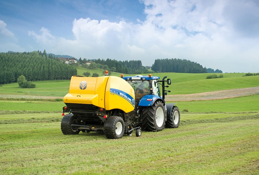 NEW HOLLAND UPGRADES ROLL-BELT VARIABLE CHAMBER BALERS, INCREASES