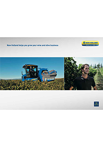 Vineyard and Olive Harvester - Brochure