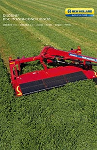 Discbine® Disc Mower-Conditioners - Brochure