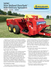DuraTank™ Side-Delivery Spreaders - Brochure
