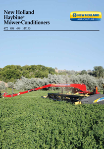 H7150 Mower-Conditioners - Brochure