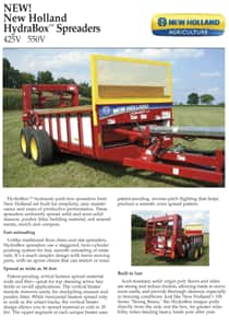 HydraBox™ Spreaders - Brochure