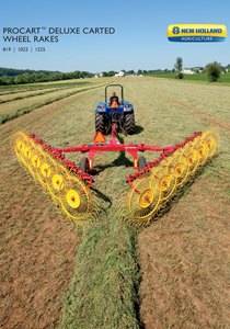 ProCart™ Deluxe Carted Wheel Rakes - Brochure