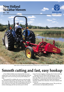 Sicklebar Mowers - Brochure