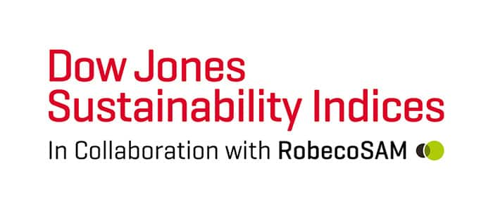 SEKTOR-SPITZENREITER IN DEN DOW-JONES-NACHHALTIGKEITSINDIZES 'DOW JONES SUSTAINABILITY WORLD AND EUROPE'