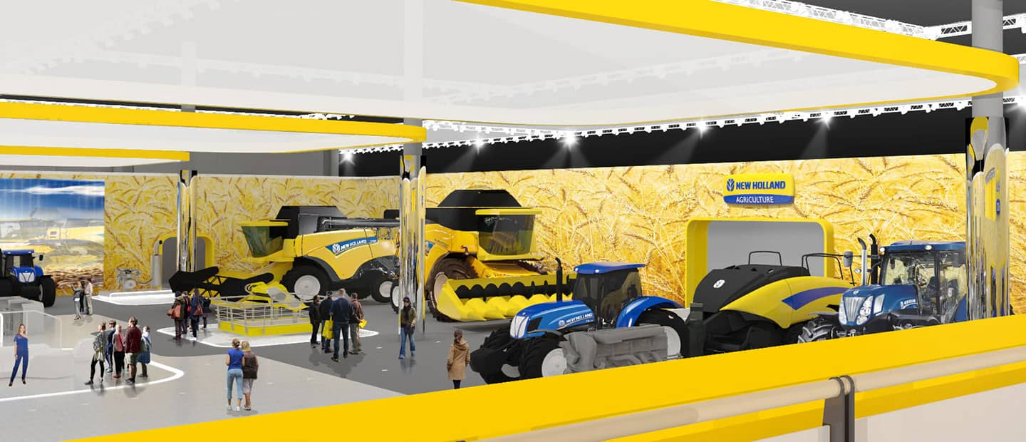 New Holland Agritechnica 2015 New Holland Agriculture