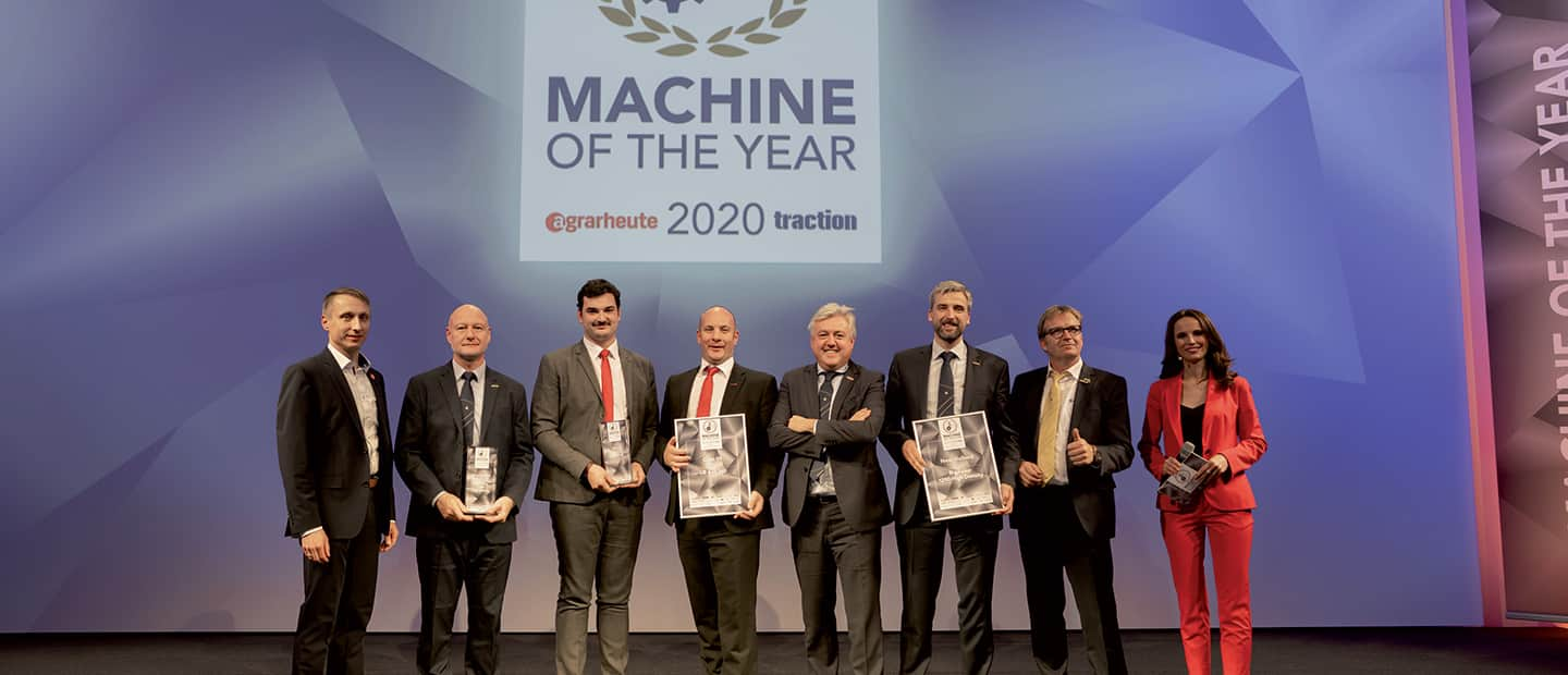 New Holland BigBaler 1290 High Density wins Machine of the Year 2020 Award in the Forage Harvesting Category at Agritechnica 2019