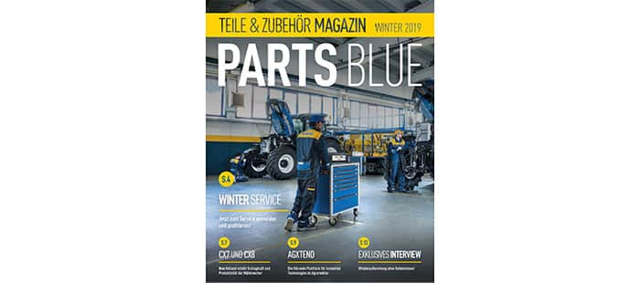 PARTS BLUE Magazin