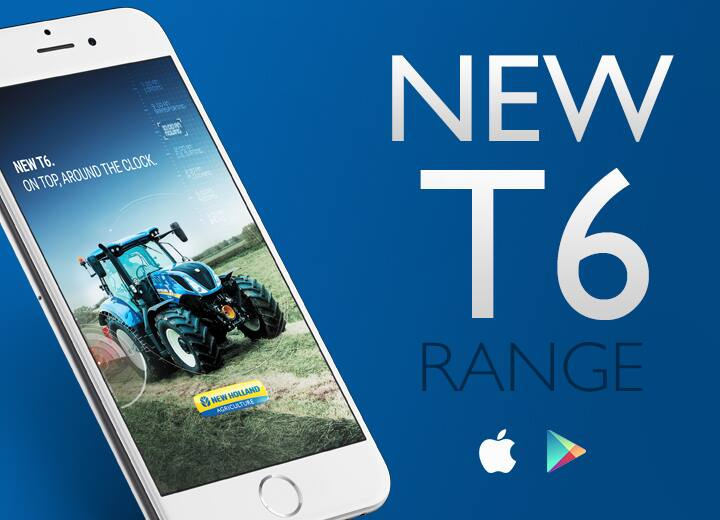 New Holland Agriculture T6 range App