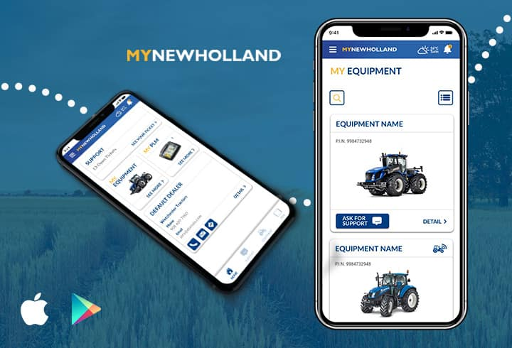Application MYNEWHOLLAND