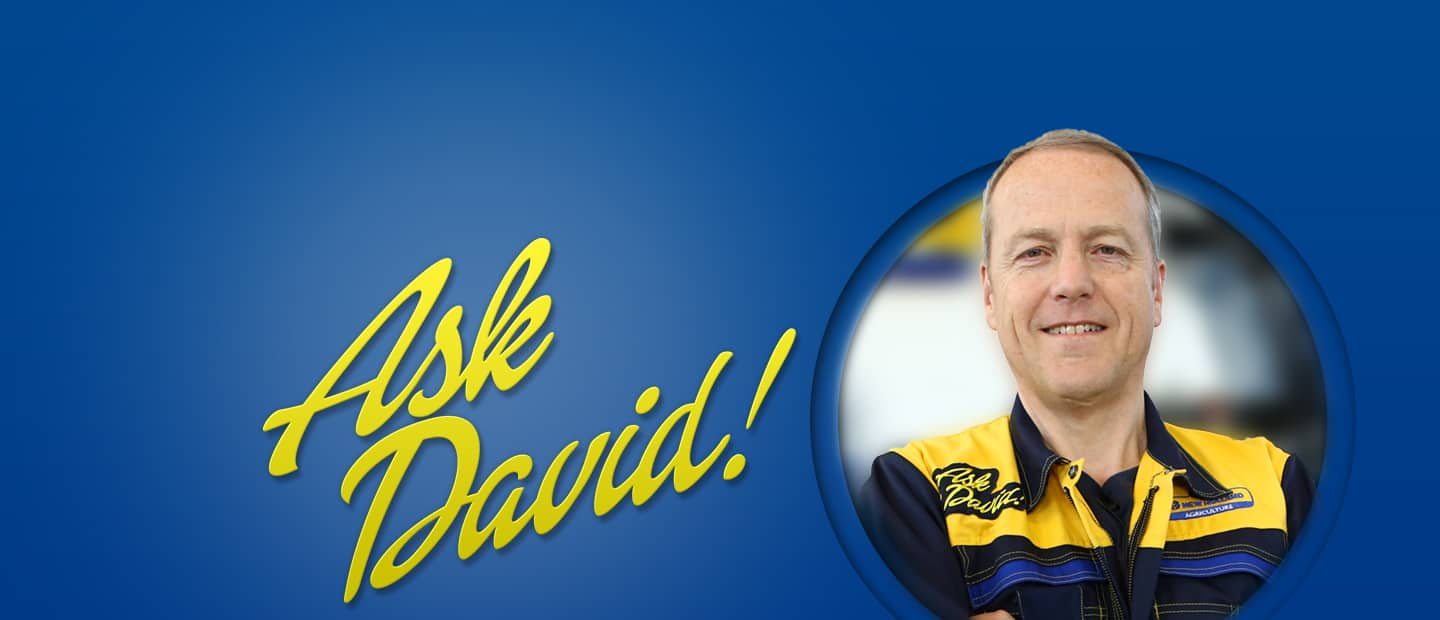 Ask David New Holland Agriculture