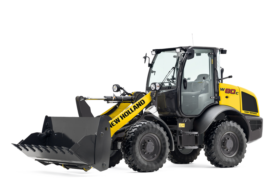 new holland construction compact wheel loaders models