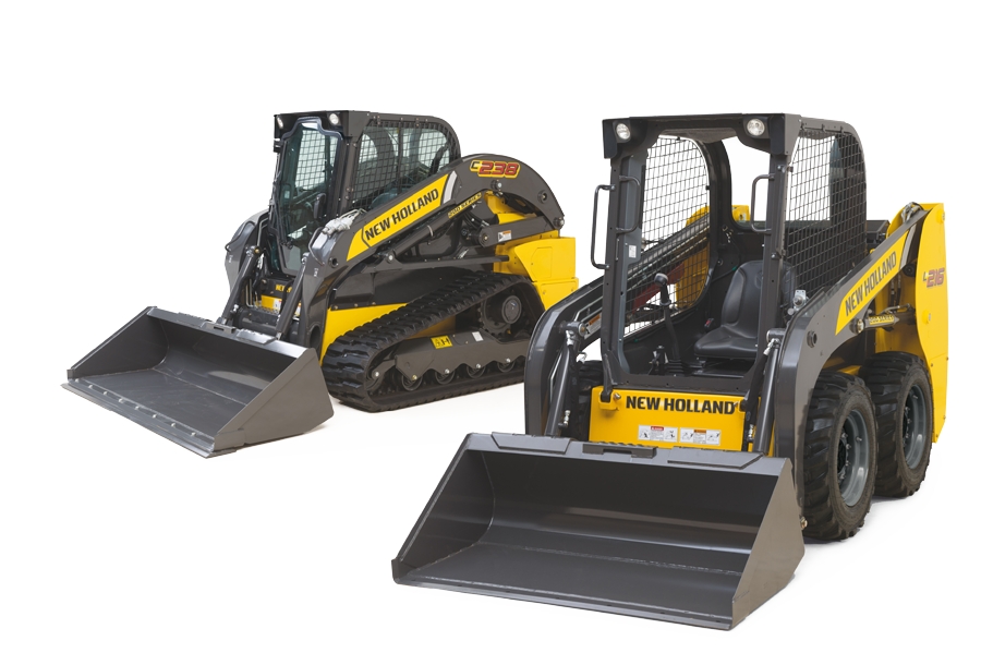 New Holland Construction SKID STEER LOADERS & COMPACT TRACK
