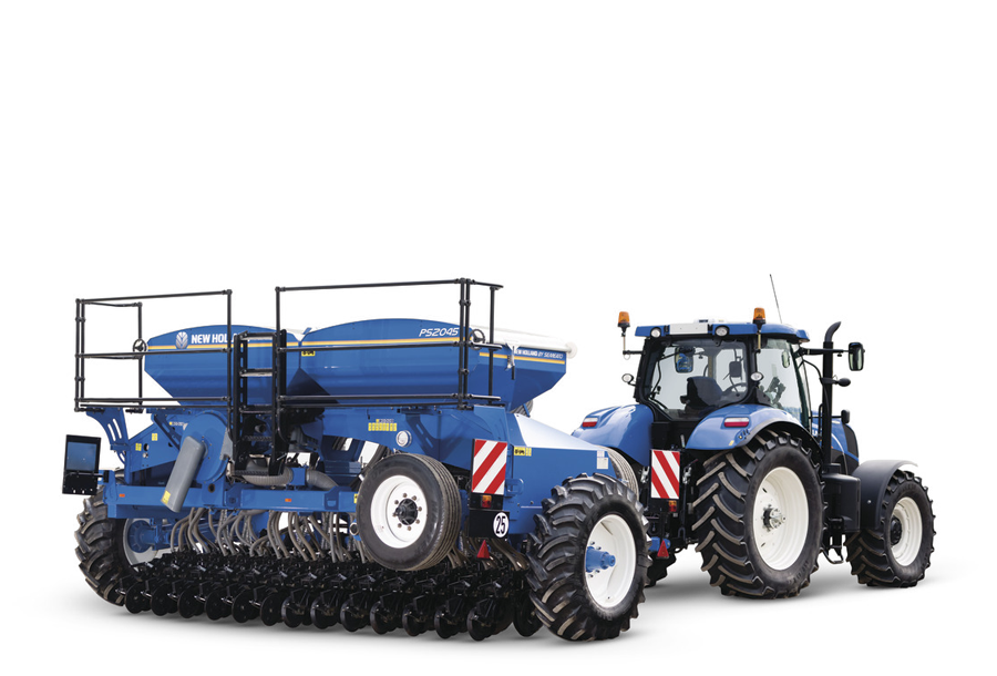 SEMOIRS NEW HOLLAND DESTINES AU SEMIS DIRECT SOUS COUVERTS