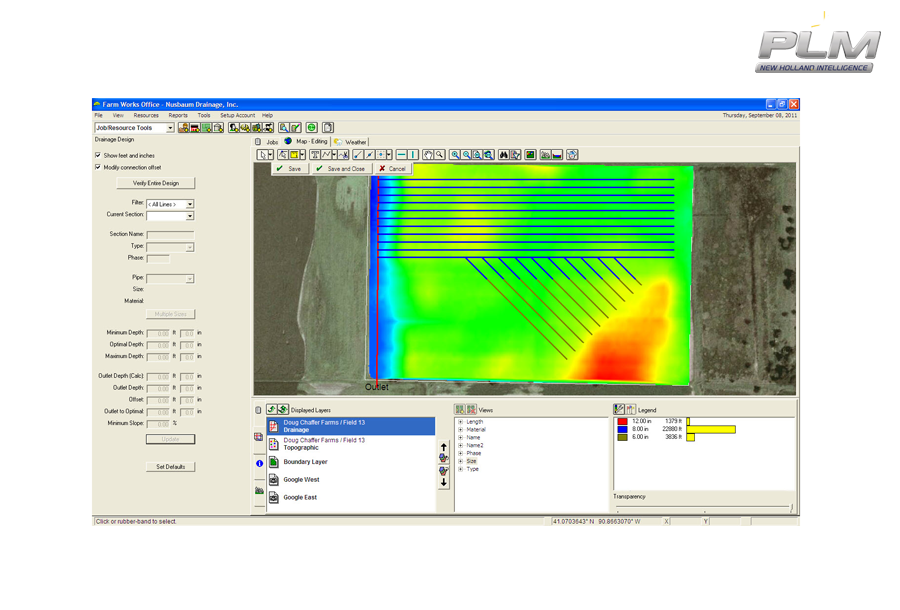 Trimble® WM Drain