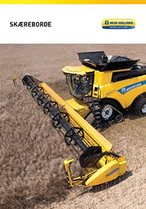 New Holland Skæreborde - Brochure