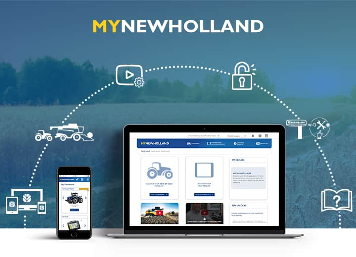 BRANDNEUES MYNEWHOLLAND!