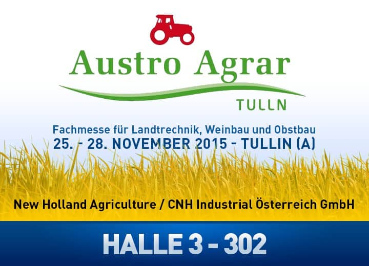 NEW HOLLAND AUF DER AUSTROAGRAR IN TULLN