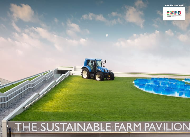 The Sustainable Farm Pavilion. Technological. Sustainable. Unique.