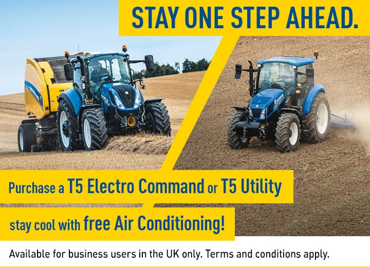 Stay one step ahead with New Holland!
