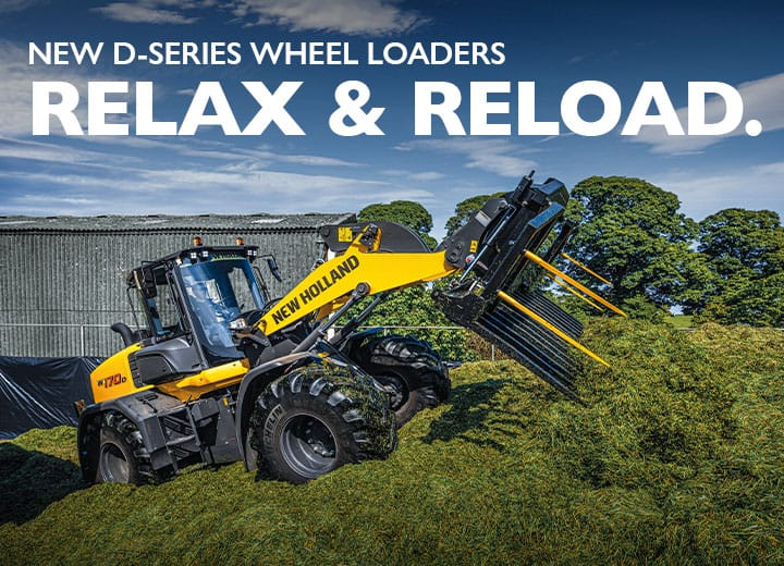 NEW D-SERIES WHEEL LOADERS
