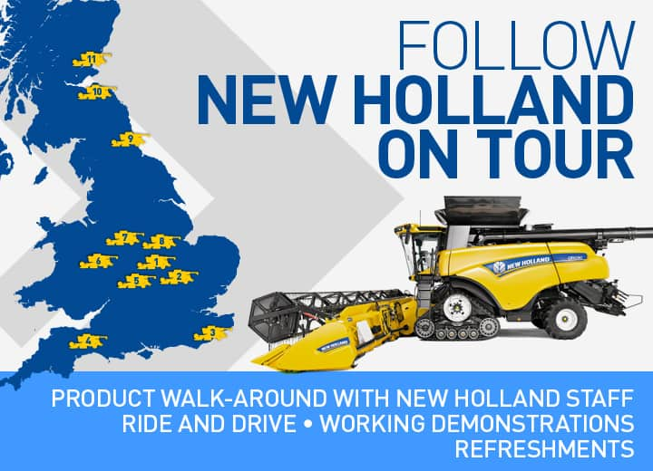 Follow our Harvesting Tour 2016