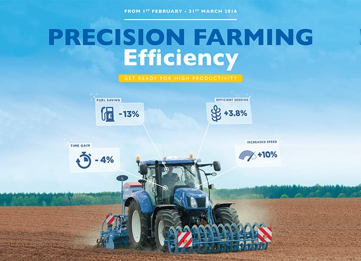 PRECISION FARMING EFFICIENCY