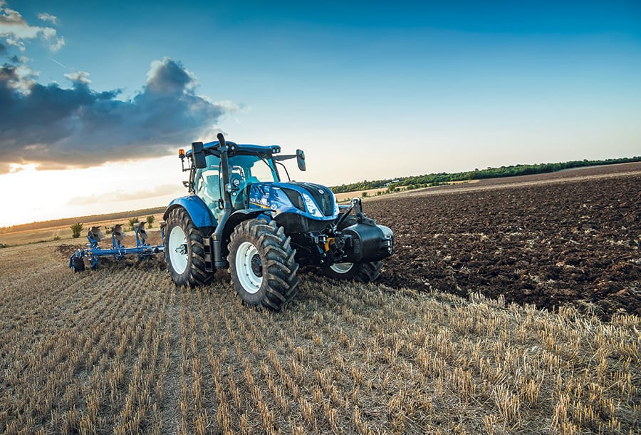 New Holland Dealer T H White Showcases Latest Tractors Balers And