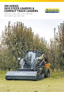 300 Series Skid Steer Loaders and Compact Track Loaders - Brochure