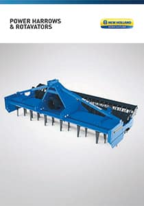 Power Harrows and Rotavators - Brochure