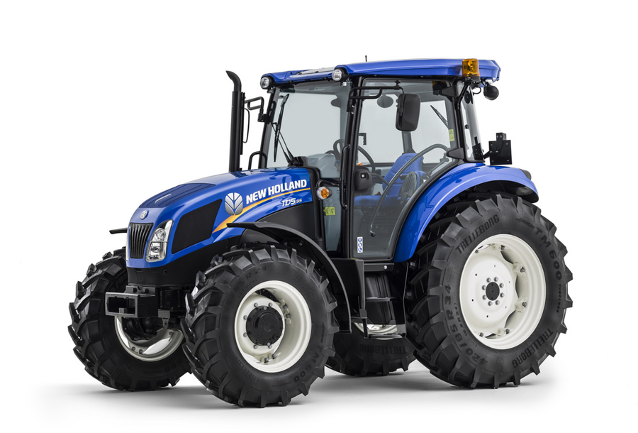 New Holland Agricultural Tractors TD5 - TIER 4A Models | NHAG on