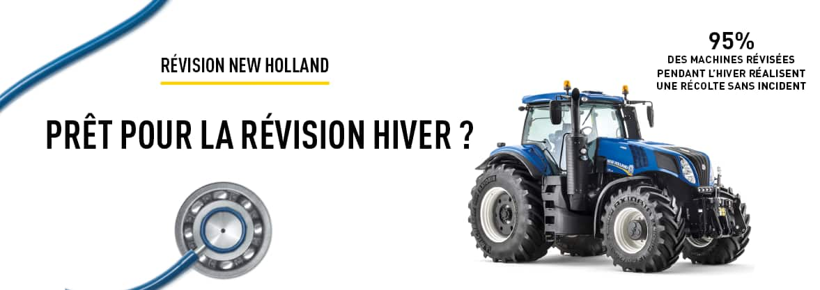 RÉVISION NEW HOLLAND
