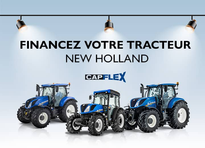 Louez un tracteur New Holland