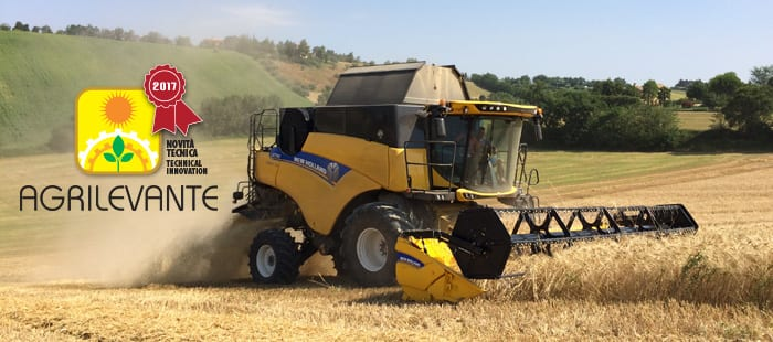 NEW HOLLAND PREMIATA COME NOVITA' TECNICA