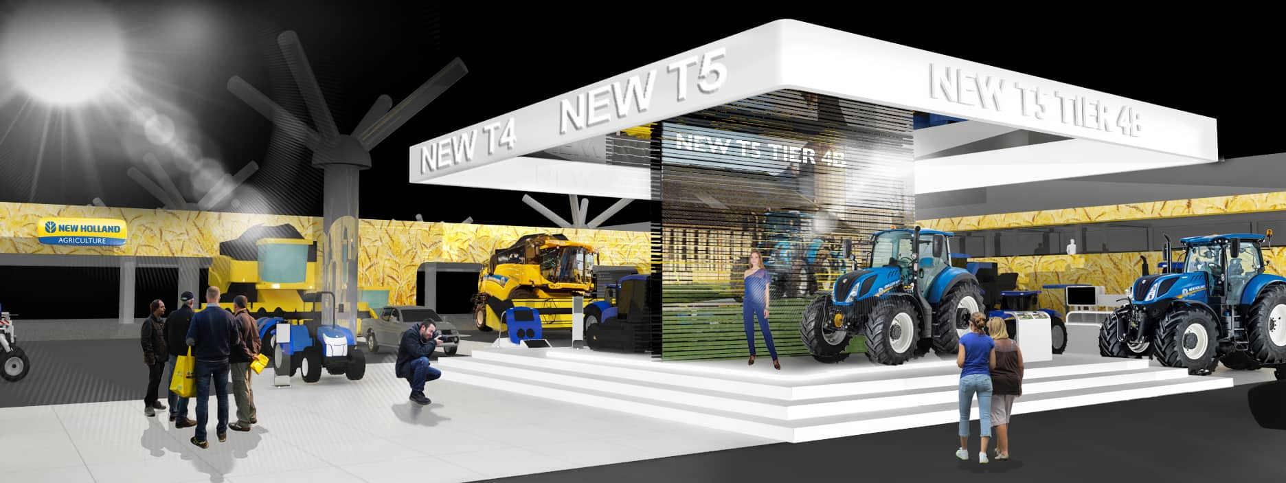 Dove Siamo Eima New Holland Agriculture