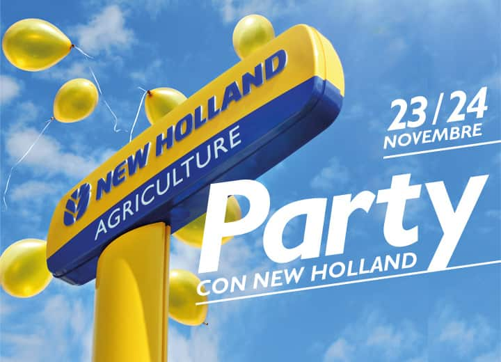 Party con New Holland