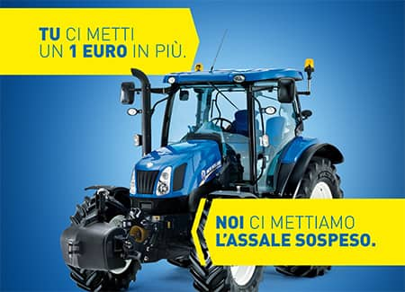 Acquista un trattore New Holland T6.120